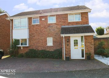 Thumbnail 4 bed detached house for sale in Cricklade Close, Abington, Northampton