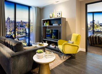 Thumbnail 2 bedroom flat for sale in 199-207 Marsh Wall, Canary Wharf, London