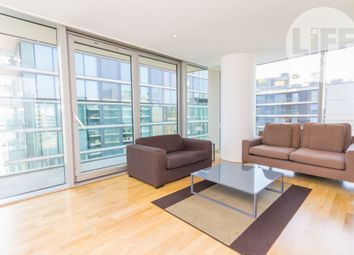 Thumbnail 2 bedroom flat to rent in The Landmark West Tower, 22 Marsh Wall, Docklands, London