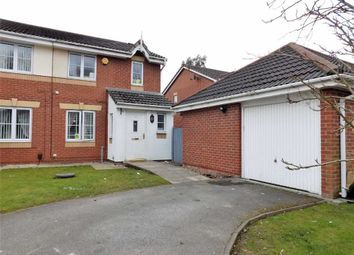 Thumbnail 4 bed semi-detached house for sale in Newsham Road, Cale Green, Stockport