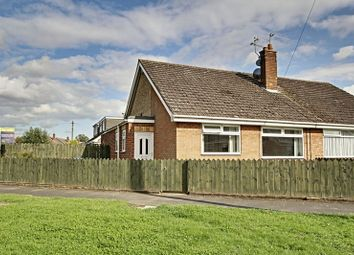 Thumbnail 2 bed semi-detached bungalow for sale in Summergangs Drive, Thorngumbald, Hull