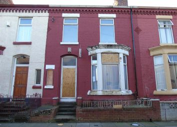 Thumbnail 3 bed terraced house for sale in St. Andrew Road, Anfield, Liverpool