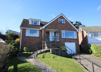 Thumbnail 4 bed detached house for sale in Cauldron Crescent, Swanage