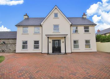 Thumbnail 4 bed detached house for sale in Eglwys Nunnydd, Port Talbot