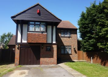 Thumbnail 4 bed detached house for sale in Hurlfield, Dartford