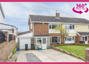 Thumbnail 4 bedroom semi-detached house for sale in Aberthaw Circle, Newport