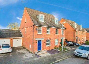 Thumbnail 3 bed semi-detached house for sale in Frith Close, Great Oakley, Corby