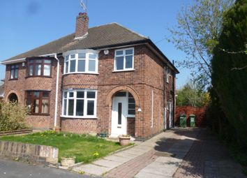 Thumbnail 3 bedroom semi-detached house for sale in The Fairway, Blaby, Leicester