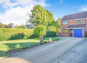 Thumbnail 4 bedroom detached house for sale in Cook Road, Holme Hale, Thetford