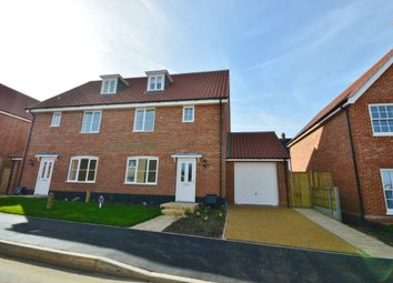 Thumbnail 3 bed semi-detached house to rent in Willow Way, Saxmundham