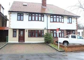 Thumbnail 4 bed semi-detached house for sale in Middleton Gardens, Ilford