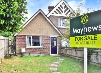 Thumbnail 1 bed semi-detached bungalow for sale in Lingfield, Surrey