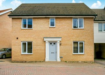 Thumbnail 4 bed link-detached house for sale in Blenheim Close, Upper Cambourne, Cambridge