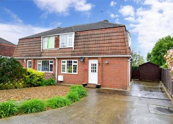 Thumbnail 3 bed semi-detached house for sale in Harrison Drive, High Halstow, Rochester, Kent