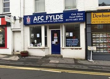 Thumbnail Retail premises to let in Former Afc Fylde Shop, 6 Station Road, Kirkham