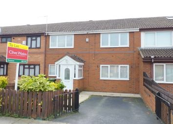Thumbnail 3 bed terraced house to rent in Bramblewood Close, Prenton