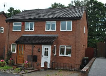Thumbnail 2 bed semi-detached house to rent in De Warenne Close, Whitchurch, Shropshire