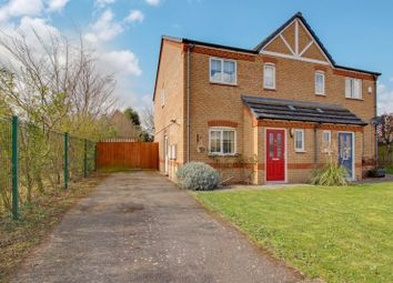 Thumbnail 2 bed semi-detached house for sale in The Glebe, Offord Cluny, St. Neots