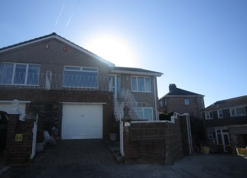 Thumbnail 3 bedroom semi-detached house to rent in Brean Down Close, Peverell, Plymouth