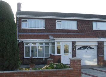 Thumbnail 3 bed semi-detached house for sale in Redwood Close, Hetton-Le-Hole, Houghton Le Spring