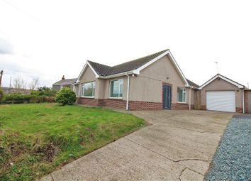 Thumbnail 4 bed detached bungalow for sale in Upper Thornton, Milford Haven, Pembrokeshire