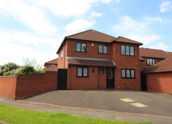 Thumbnail 4 bed detached house for sale in Willson Avenue, Littleover, Derby