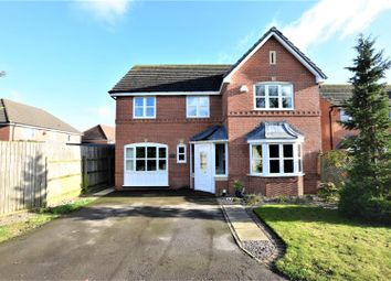 Thumbnail 4 bed detached house for sale in Harborough Close, Whissendine, Oakham