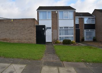 Thumbnail 3 bed end terrace house for sale in Coverack Walk, Evington, Leicester