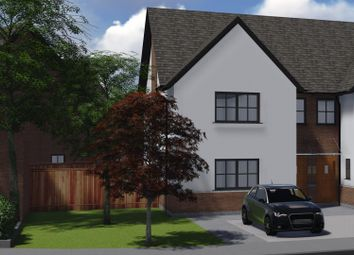 Thumbnail 3 bed semi-detached house for sale in Lace Gardens, Off Brookside Road, Ruddington
