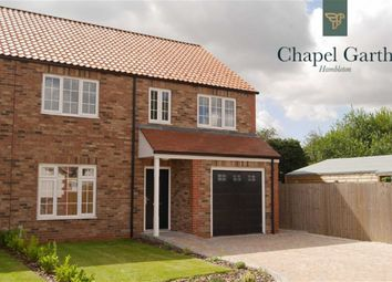 Thumbnail 4 bed semi-detached house for sale in Chapel Garth, Hambleton, Selby