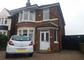 Thumbnail 4 bed detached house for sale in Shaftesbury Avenue, Blackpool