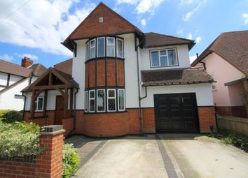 Thumbnail 4 bed detached house for sale in Vicarage Avenue, Egham