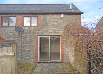 Thumbnail 1 bed semi-detached house to rent in Church Lane, Evercreech, Shepton Mallet
