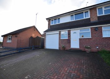 Thumbnail 3 bed semi-detached house for sale in Langham Drive, Narborough, Leicester