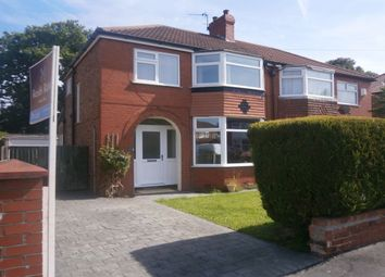 Thumbnail 3 bed semi-detached house to rent in Arderne Road, Timperley, Altrincham