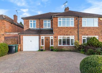 Thumbnail 4 bed semi-detached house for sale in Little Green Lane, Croxley Green, Rickmansworth