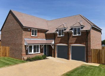 """Thumbnail 4 bed detached house for sale in """"Rothbury"""" at Highfield, Froxhill Crescent, Brixworth, Northampton"""