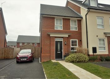 Thumbnail 3 bed mews house for sale in Buttercup Crescent, Northwich