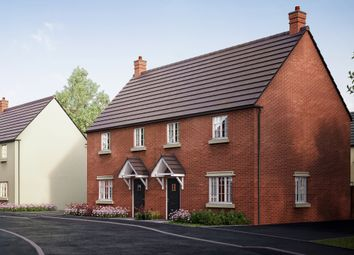 "Thumbnail 3 bed semi-detached house for sale in ""The Abthorpe"" at Former Sawmills, Northampton Road, Brackley"