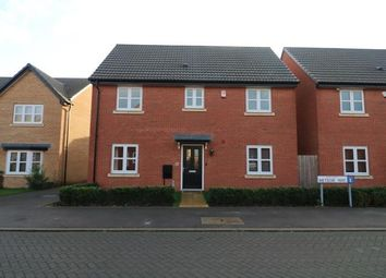 Thumbnail 4 bed detached house for sale in Meteor Way, Whetstone, Leicester, Leicestershire