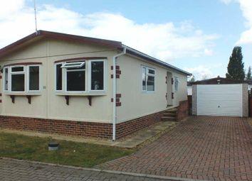Thumbnail 2 bedroom mobile/park home for sale in Constellation Park, The Drift, Elsworth