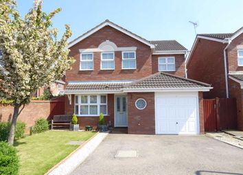 Thumbnail 4 bed detached house for sale in Oberon Close, Heathcote, Warwick