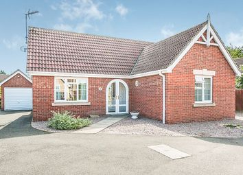 Thumbnail 2 bedroom detached bungalow for sale in Southfields Close, Wisbech