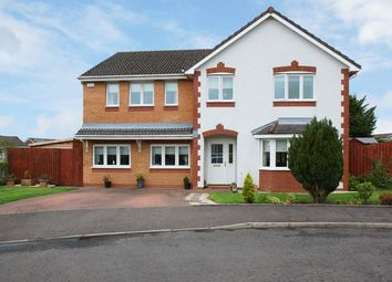 Thumbnail 5 bed detached house for sale in Langshaw Court, Stewarton