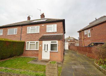 Thumbnail 3 bed semi-detached house to rent in Allerton Grange Gardens, Moortown, Leeds