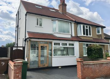 Thumbnail 4 bed semi-detached house for sale in Fieldsend Road, Cheam