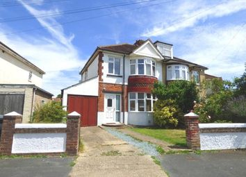 Thumbnail 3 bed semi-detached house for sale in Dunkeld Road, Gosport