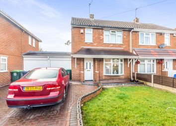 Thumbnail 2 bed semi-detached house for sale in Kent Road, Wednesbury