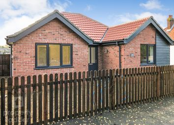 Thumbnail 3 bed detached bungalow for sale in Marshall Close, Spixworth, Norwich