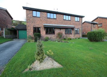Thumbnail 3 bed semi-detached house for sale in White Hill Close, Healey, Whitworth